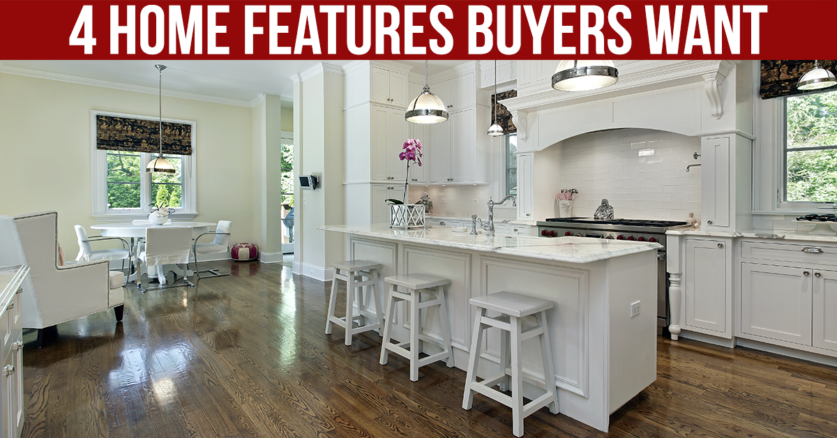 Most Important Features to Buyers!