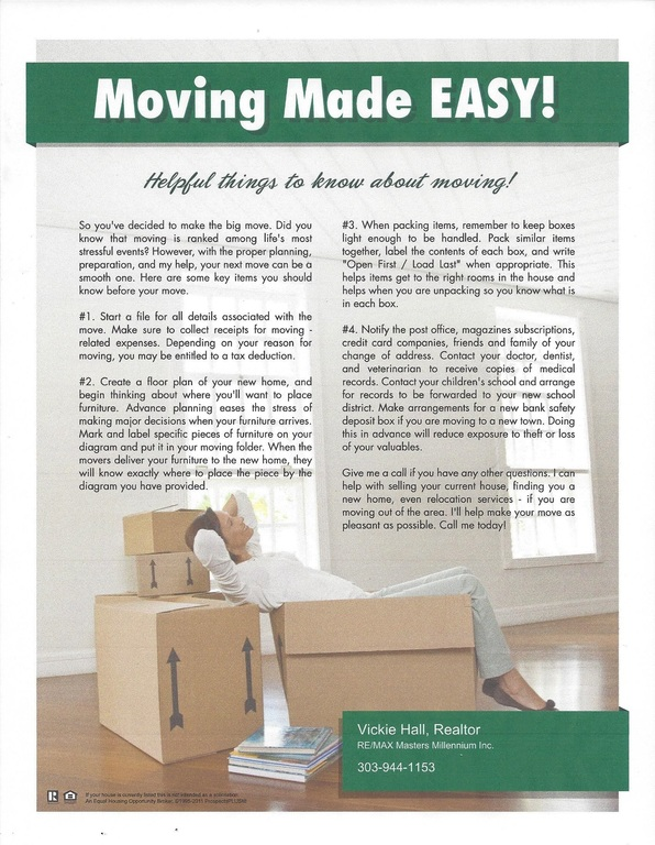 Helpful Things to Know About Moving