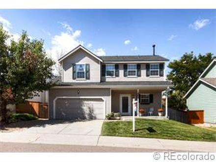 Closing in Highlands Ranch on Cobblestone Street