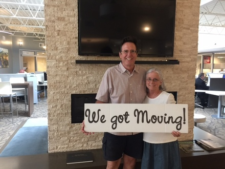 "She means it when she says ""Let's get moving!"""