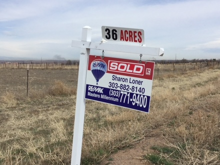 SOLD 36 acre lot