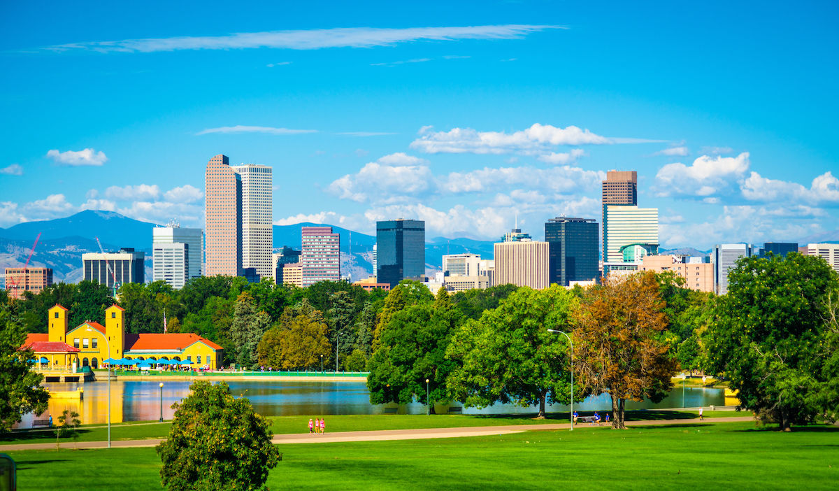 Denver is the fifth most popular moving destinations in USA