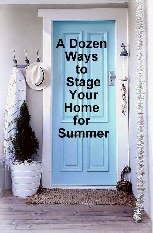 Staging Your Home to Sell Quickly this Summer