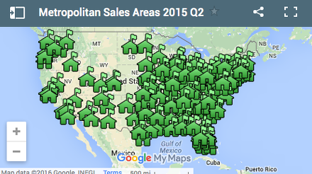 Median Home Price Map