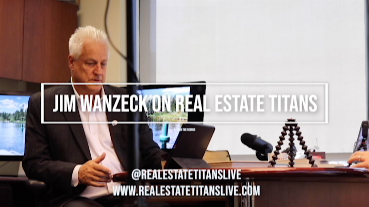 Jim Wanzeck and the Real Estate Titans #jimwanzeck