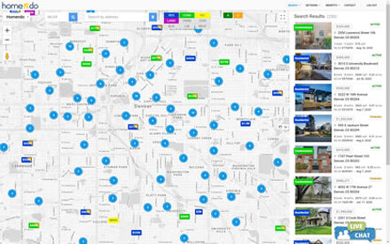 Map Search on your desktop