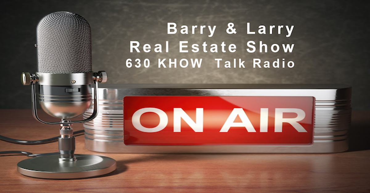 The Barry & Larry real estate radio show on 630 KHOW AM Makes First Broadcast from new state-of-the-art studio at RE/MAX Masters Millennium